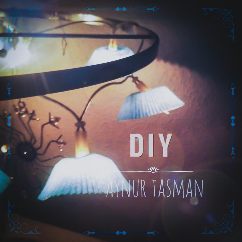 diy lichterkette aus cupcake f rmchen. Black Bedroom Furniture Sets. Home Design Ideas